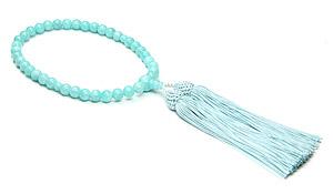 【ご褒美企画】女性用片手略式念珠(アマゾナイトAAA)