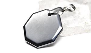 【薬石特集】テラヘルツ鉱石[人工鉱石]ペンダント【オクタゴン】-233