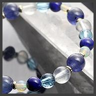 完全限定品ブレス【極:青藍(せいらん)】