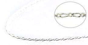 【シルバー925】フィガロチェーン タイプ2<50cm>