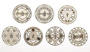 【特別価格】神聖幾何学プレート【チャクラセット】