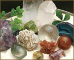 水晶クラスター、天然石ビーズのアートクリスタル